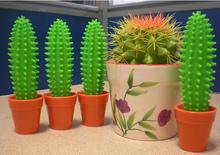 Novelty cactus ballpoint pen tips
