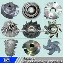 casting pump parts steel casting impeller