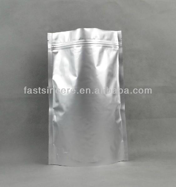 Aluminum Foil Plastic Ziplock Bags For Packing Chicken