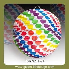 2013 fashion Polka Dot round paper lantern