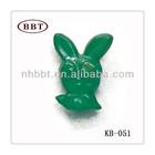 Rabbit Shape Button Plastic