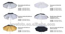 Umbrella Manufacturer - Photo Studio Reflective Flash LIghting Umbrella for Yong Nuo Flash YN-560 /YN-560II/YN-568/YN565EX