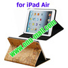 Map Pattern Stand Leather Cover for iPad Air Case