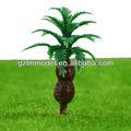 4.0cm s82 miniatura modelo coqueiros/cenário de plástico escala modelo de árvore/decorativa modelo de árvore
