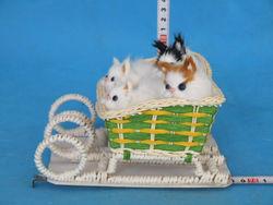 fur toys bengal cat cat figurine