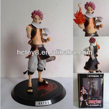 Wholesale 23cm cute Fairy Tail Natsu Dragneel PVC Action figure