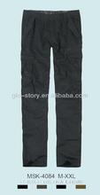 winter cargo pantalones for man
