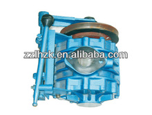 Biogas vacuum pumps for cesspool cleaning cars
