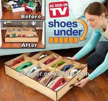 12 Pairs Underbed Shoe Storage with Cedar