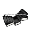 Professional cosmetic trolley case D9018K black big diamond (trolley case)