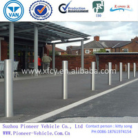Base Plated Stainless Steel Bollards