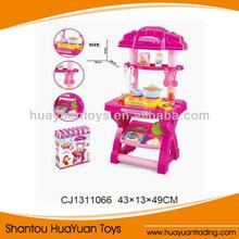 caliente venta de utensilios de cocina de plástico conjunto juguetes para los niños