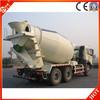 man concrete truck mixer