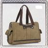 Khaki cotton canvas handbags wholesale