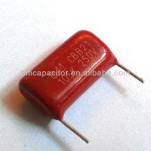 CBB21 Capacitor ( metallized polyester film capacitor )
