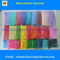 color quartz sand