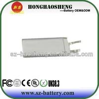 3.7V 180mAh lithium polymer battery for MP4,MP3 Baterai rokok elektronik