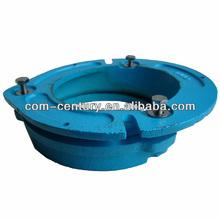 Toilet 4*2 inch Quick Set / 3/4 inch Offset Cast Iron Roof/Floor Closet Flange Drain Strainer