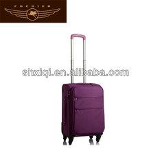 polyester luggage case set suitcase