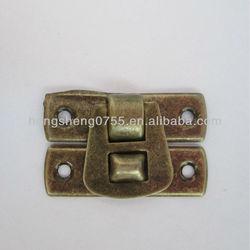 mini gift box lock, small jewelry box latch