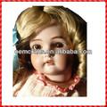 Adorável personalizado menina alemão Bisque boneca