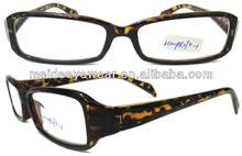 Plastic reading glasses flower pattern reading glasses
