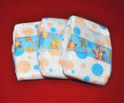 Clothlike disposable baby diaper with Velcro tape wholesalers in China