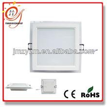 Low Price AC85-265V CE Rohs led light panel glass