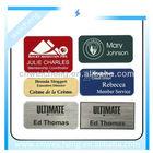 Custom aluminum labels,Self Adhesive Metal Sticker