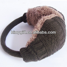 custom knitting winter earmuff