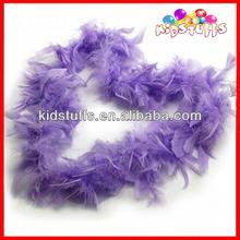 30 Grams Violet Turkey Feather Boas Promotional