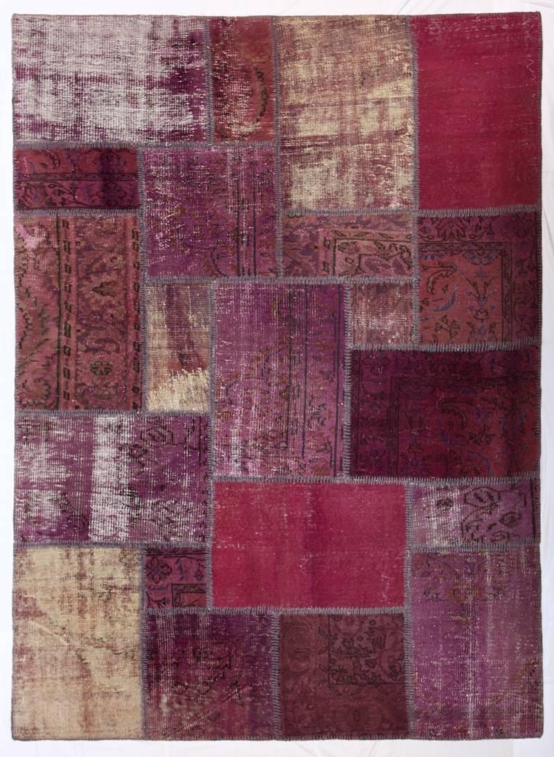 Patchwork carpet vintage rug handmade contemporary patchwork rug Tapis vintage patchwork