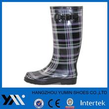 Camo printed rain boot for women