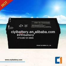VRLA SLA MF Solar Deep Cycle Solar Battery 12V 250AH