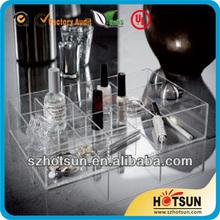 acrylic makeup organizer lipstick display tabletop cosmetic organizer