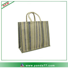 Recycle stripe shopping bag wholesale