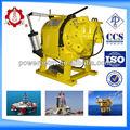 Dali brand ccs/api/iso 5 ton alta velocidade manual operado guincho ar/ar tugger com cilindro de ar do freio