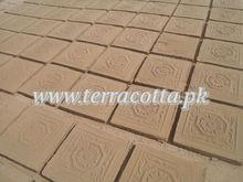 Terracotta traditional handmade tiles