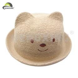 Fashion stylish various pattern children straw hats