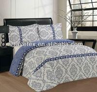 100% Polyester Stock Microfiber Comforters Full