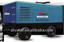 260hp Diesel engine drive movable screw compressor