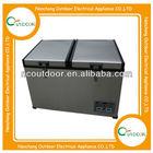 70L protable dual zone sport cooler battery operated mini fridge