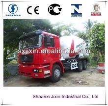 shacman F3000 concrete mixer trucks prices