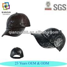 Custom Wholesale Snakeskin Baseball Caps