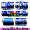 wholesale used ribbon printing machine ribbon with iton wire for gift packaging