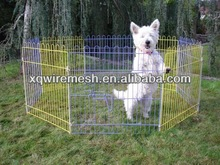 metal wire dog play pen/ enclosure /fence