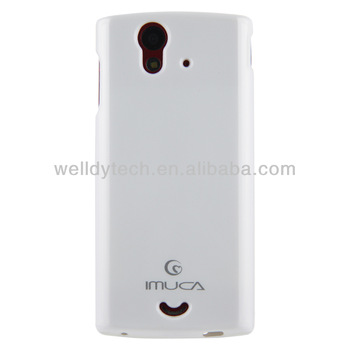 IMUCA TPU jelly case for Sony Xperia ray ST18i case cover