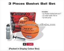 3 Piece Basketball Set