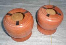 Ashtray, Made of Wood.