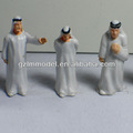 4.0cm ap50-5 miniature peinte arabe. personnes/train hobby shop/acc. miniatures